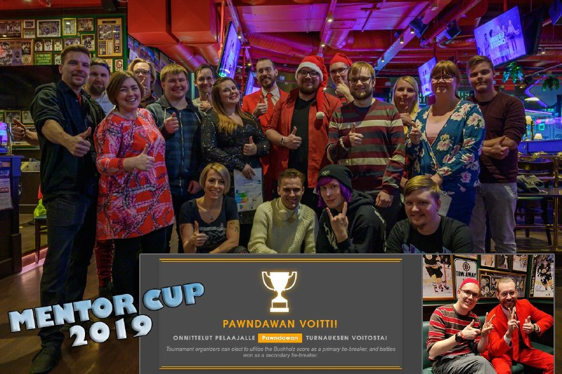 Mentor Cup yhteiskuva